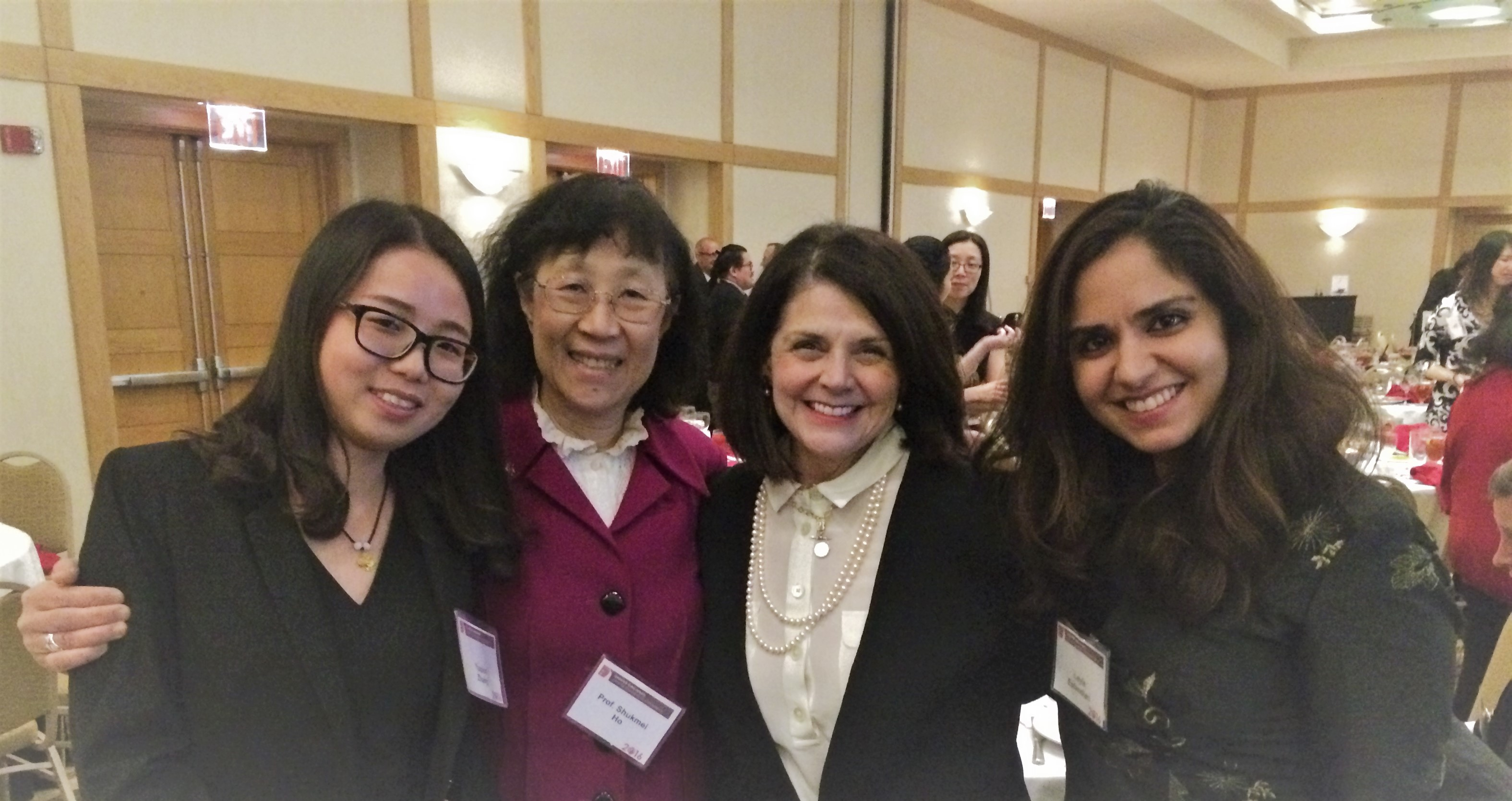 Meeting the former provost at Chinese New Year Celebration Event UC