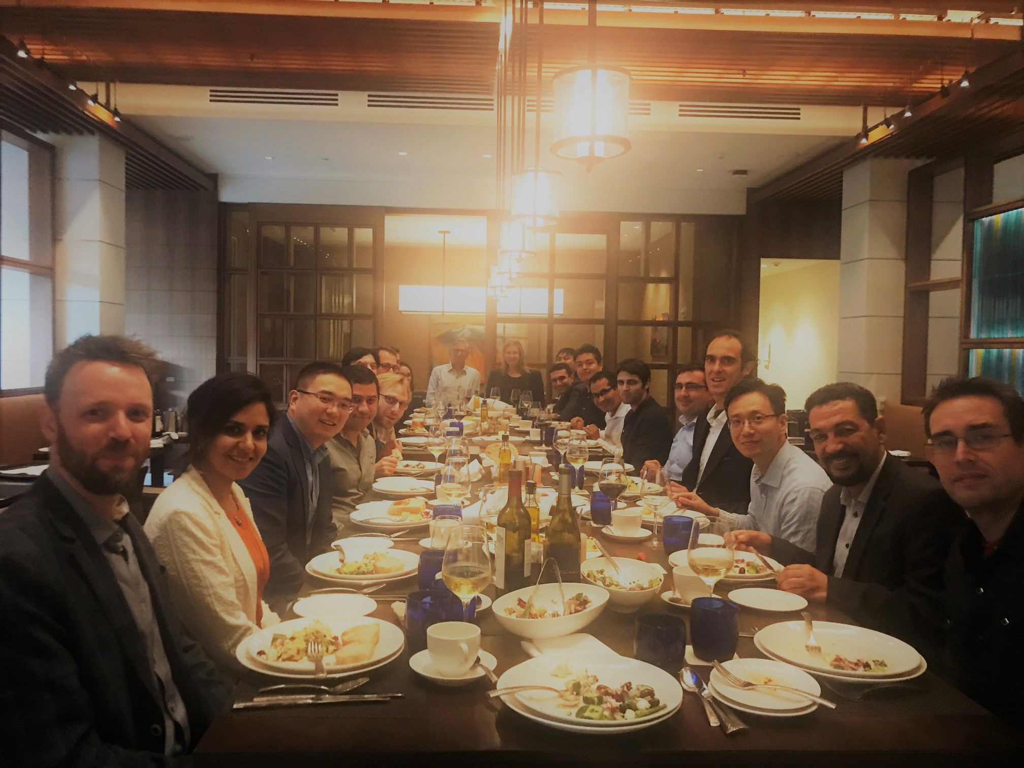 Micro and Nanotechnologies for Medicine Conference Dinner